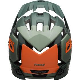 Bell Super Air R MIPS Casque, vert/orange
